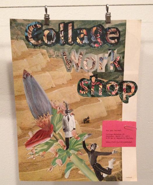 Collage Workshop Flyer 2