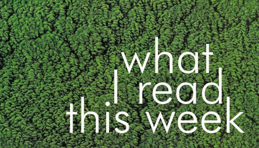 What I read This Week graphic graphic